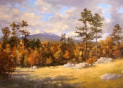 SOLD - Mount Monadnock, October, 2010, 24 x 36
