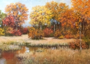 SOLD - Theme and Variations, Bolton, MA, 15 x 30